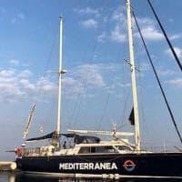 Una genovese a bordo per Mediterranea