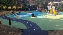 Sestri, a Villa Rossi il primo parco giochi inclusivo di Genova