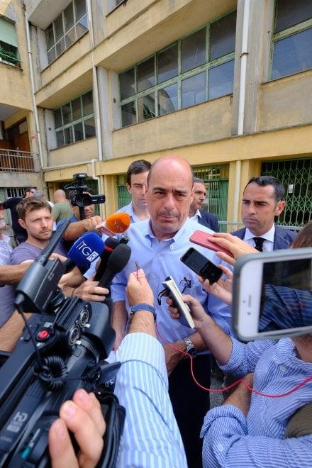 """Zingaretti: """"Il Pd vuole costruire un piano per l'Italia"""""""