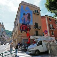 Street art, ecco i murales sui palazzi di Certosa