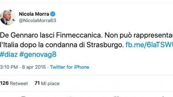 """Genova e il G8 2001, polemica sul M5s e le dimissioni """"dimenticate"""" di De Gennaro"""