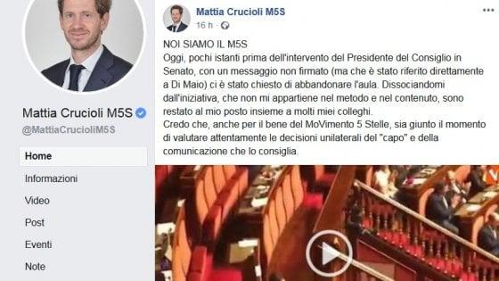 """La rivolta di Crucioli contro Di Maio: """"Ha fatto scelte avventate, non siamo pecore"""""""