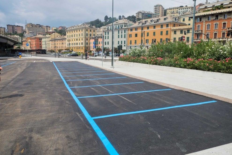Completato il parcheggio di interscambio di Dinegro