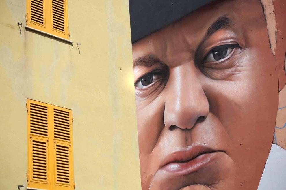 A Certosa un nuovo murale dedicato a Fantozzi