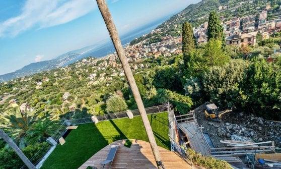 Santa Margherita, abusi edilizi nella villa di lusso i carabinieri denunciano la giudice