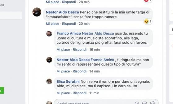 Il compositore De Scalzi rinuncia al titolo di ambasciatore di Genova nel mondo. Divergenze con Bucci