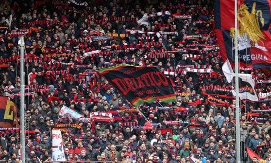 Genoa, con l'Atalanta tornano gli striscioni allo stadio