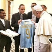 Il Papa benedice l'Entella