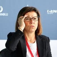 La ministra De Micheli: