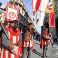 Il corteo storico, incontro tra Vecchio e Nuovo mondo