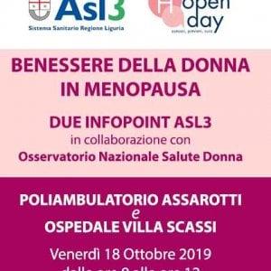 Benessere e menopausa, due infopoint dell'Asl3