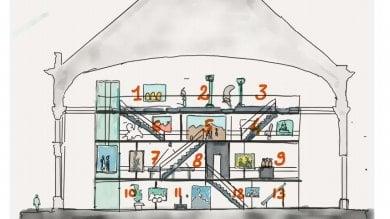 Genova, per la Loggia di Banchi un progetto prevede un soppalco di tre piani