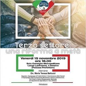 """Genova, il convegno sul terzo settore e il """"giallo"""" sull'organizzazione"""