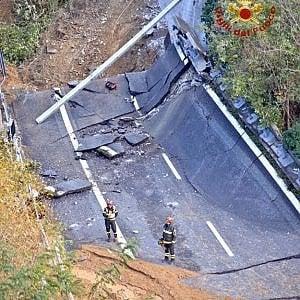 """Viadotto crollato sulla A6, il procuratore capo di Savona: """"Indagini sui piloni"""""""