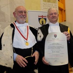 Genova, laurea honoris causa a Paolo Clerici