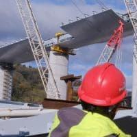 Nuovo ponte, si lavora anche a Capodanno