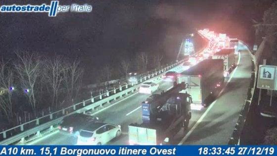Liguria, il cda Autostrade dice sì a eventuale abolizione pedaggi