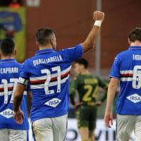 La Sampdoria fa cinquina col Brescia