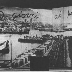 Dal porto al teatro, il ricordo di Ivo Chiesa e i cinque giorni al porto