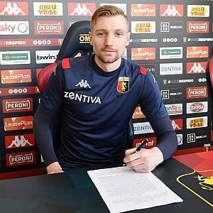 Genoa, Eriksson ha firmato:è disponibile per Firenze