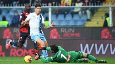 La Lazio non si ferma più, ma il Genoa esce tra gli applausi