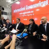 Coronavirus, sedici positivi in Liguria