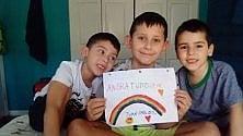 Il sorriso e l'ottimismo dei bambini per #iorestoacasa  Le vostre foto a  Repubblica Genova -1