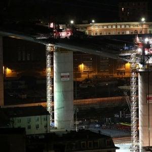 Nuovo ponte di Genova: terminato il varo in quota dell'ultima maxicampata