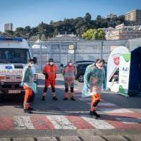 Genova, sulla nave ospedale quattro pazienti