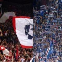 Samp e Genoa, il cuore dei tifosi per l'ospedale San Martino