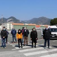 Arrivati a Genova gli infermieri della Protezione Civile