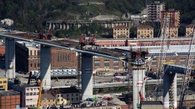 II nuovo ponte di Genova è arrivato  a 910 metri