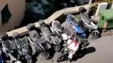 Benedizione della Palme il parroco va in scooter