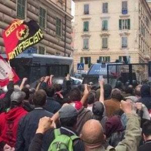 Manifestazione antifascista in ricordo degli scontri del 2019