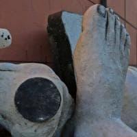 Luzzati ai Luzzati, la grande scultura dell'artista, rimossa dal Porto Antico,