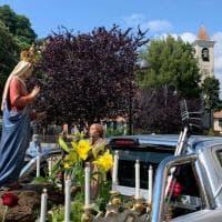 A Sant'Eusebio la processione della Madonna si fa sul pick-up