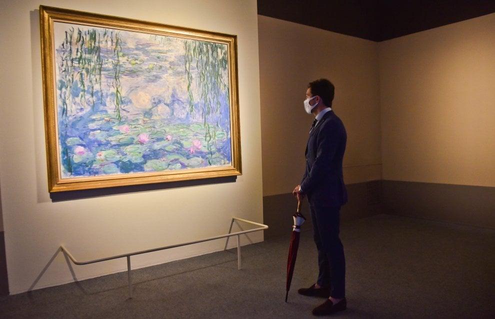"""Genova, al Ducale i """"Cinque minuti con Monet"""" e le sue ninfee"""