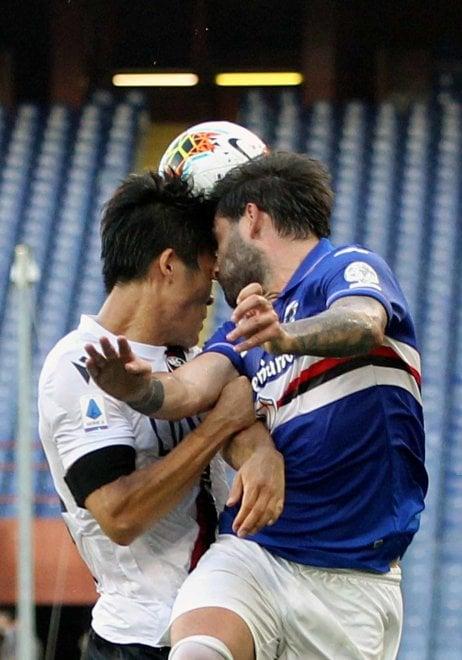 Sampdoria- Bologna la foto gallery della partita
