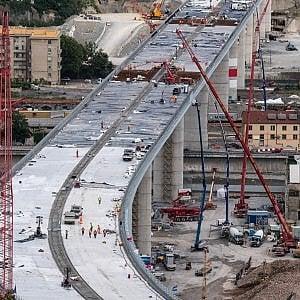 """Il commissario Bucci: """"Ponte di Genova pronto il 29 luglio"""""""