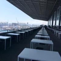 Genova, la Fiera diventa tribunale en plein air
