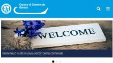 E' on line il nuovo sito della Camera di Commercio di Genova