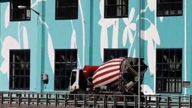 Sul Bic in verde il murale più grande  di  Genova     Fotogallery