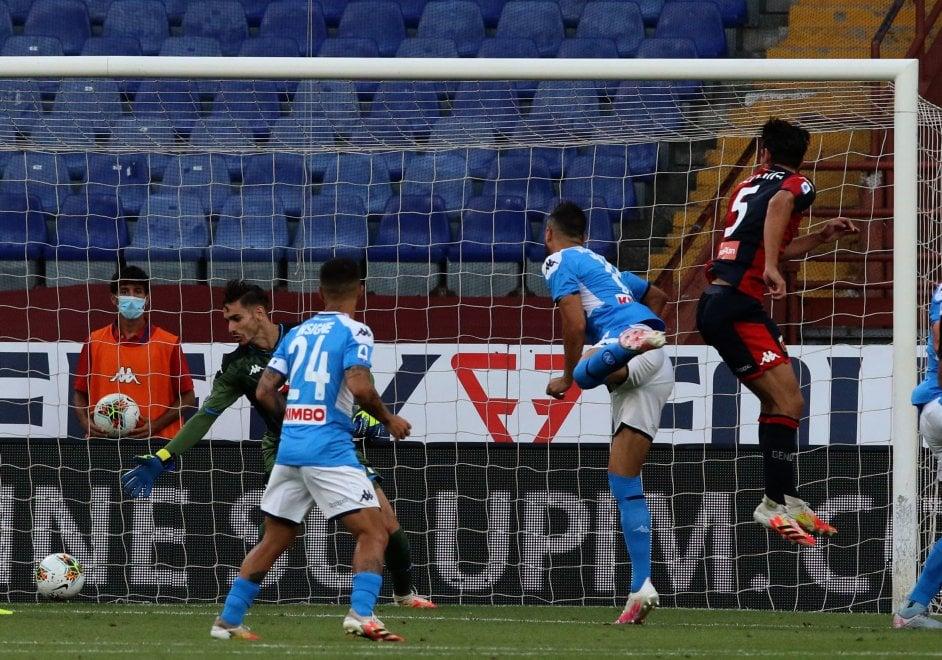 Il Genoa si arrende al Napoli