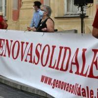 GenovaSolidale, in piazza i lavoratori dopo il lockdown