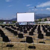 Inaugurato il cinema all'aperto di Pra'