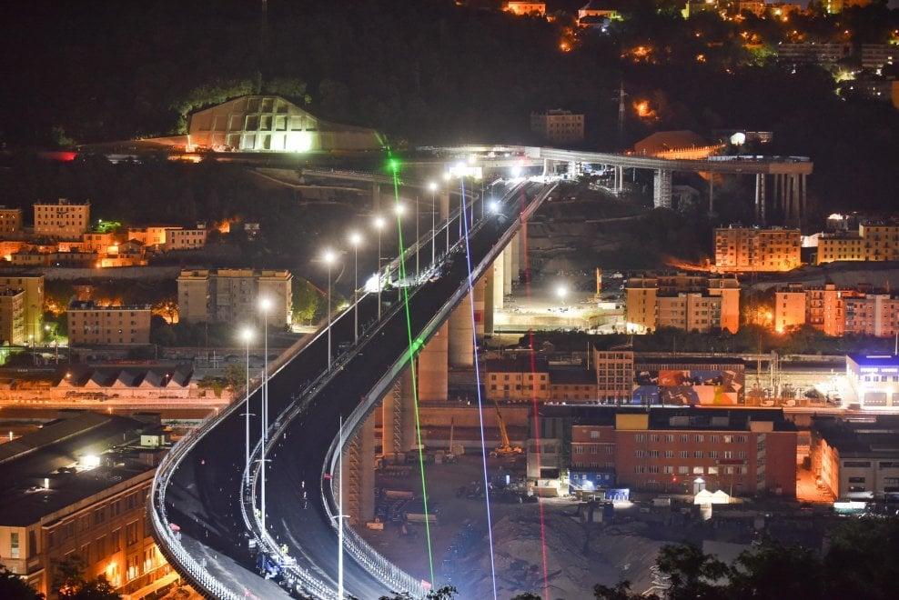 Fino a sei giorni per le prove sul nuovo ponte di Genova