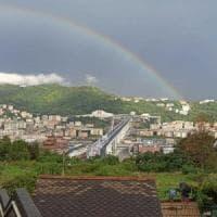 """Inaugurato il nuovo Ponte di Genova, Mattarella: """"Accertamento rigoroso delle re..."""