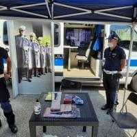 Sicurezza e degrado, un presidio mobile della polizia locale nei quartieri