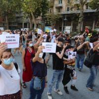 Salvini a Genova, città blindata, contromanifestazione antifascista