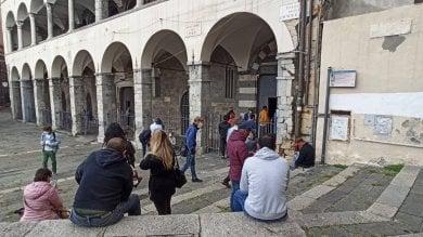 Alla Commenda i tamponi del centro storico